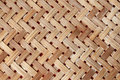 A Yellow Woven Wicker Material Royalty Free Stock Photos - 15920488