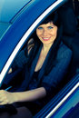 Woman In The Car Stock Images - 15932334