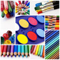 Colors Collage Royalty Free Stock Images - 15958049