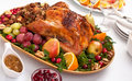 Roasted Holiday Turkey Royalty Free Stock Photo - 15959755