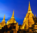 Thai Ancient Temple Royalty Free Stock Photography - 15959797
