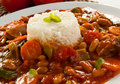 Goulash With Rice Stock Image - 15961791