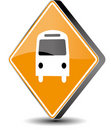 Bus Sign Royalty Free Stock Image - 15981986
