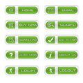 Set Of Website Buttons Royalty Free Stock Photography - 15985327