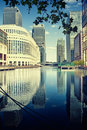 Canary Wharf, London Stock Images - 15993974