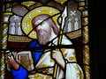 Stained Glass Window In Church Stock Photo - 1604740