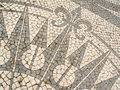 Mosaic In A Portuguese Sidewalk Royalty Free Stock Photo - 1607005