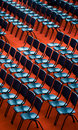 Chairs In An Audience Stock Photo - 16002570