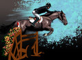 Equestrian Sport Royalty Free Stock Images - 16046249