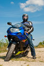 Motorcyclist Stock Images - 16053434