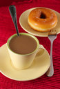 Coffee And Donut Royalty Free Stock Photography - 1610987