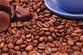 Coffee Beans And Chocolate Royalty Free Stock Images - 1614499