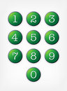 Number Buttons. Vector Set. Stock Images - 16102564