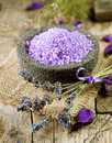 Lavender Spa Treatment Royalty Free Stock Images - 16123469