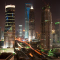 Night View Of Shanghai Stock Images - 16148474