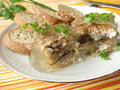 Fried Herring Into Aspic Stock Photos - 16190803
