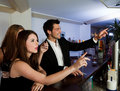 Ordering Drinks At The Bar Royalty Free Stock Image - 16208946