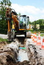 Trench For Domestic Utilities Stock Photo - 16209500