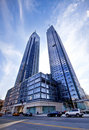 Silver Towers In Manhattan Royalty Free Stock Photos - 16210168
