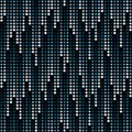 Cosmic Rain Of Halftone Dots Royalty Free Stock Photography - 16214147