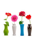 Flowers In A Vase Royalty Free Stock Photography - 16221497