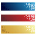 Christmas Banners Royalty Free Stock Image - 16233886