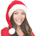 Asian Santa Girl Smiling Royalty Free Stock Images - 16242919