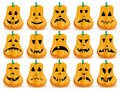 Pumpkins 8 Royalty Free Stock Images - 16262189