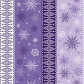 Seamless Striped Christmas Pattern Royalty Free Stock Images - 16282669