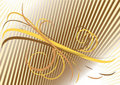 Background With Yellow And Brown Curves. Backgroun Royalty Free Stock Images - 16285199