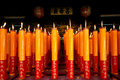 Big Candle In Chinese Temple Stock Photos - 16295843