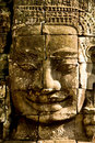 Smiling Stone Faces In The Temple Stock Photo - 16296880