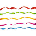 Five Colored Tapes Stock Photo - 16317950