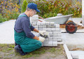 Preparation For A Paving Royalty Free Stock Photo - 16319075