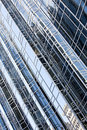 Reflections In Office Building Diagonal Royalty Free Stock Photo - 16325305