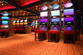 Modern Casino Hall With Game Machines Royalty Free Stock Photos - 16332498