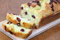 Zucchini Bread With Cranberries Stock Image - 16363191