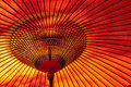 Red Japanese Parasol Stock Photos - 16369063