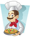 Pizza Chef Stock Photography - 16371582