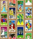 Tarot Wallpaper Stock Photography - 16374342