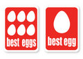 Illustration Of A Best Eggs With The Text Stock Photo - 16395280