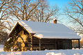 Snow Cabin Royalty Free Stock Photography - 1645777