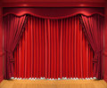 Curtains Royalty Free Stock Photography - 1648397