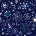Seamless Dark Blue Christmas Wallpaper Stock Photo - 16406340
