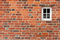 Brick Wall With Window Royalty Free Stock Photos - 16420658