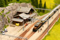 Alpine Railroad Royalty Free Stock Photo - 16437135