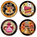 Drink Coasters 2 Royalty Free Stock Photography - 16445897