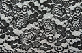 Background From Black Lace With Pattern Royalty Free Stock Image - 16448496