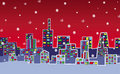 Christmas City Royalty Free Stock Images - 16449919