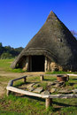 Iron Age Round House Royalty Free Stock Photos - 16459278